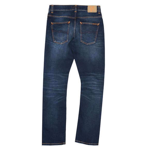 Nudie Jeans Mens Ink Navy Grim Tim Jeans