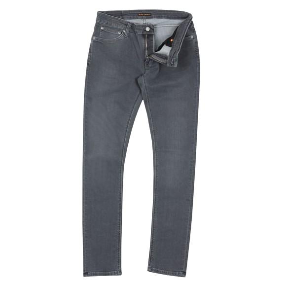 Nudie Jeans Mens Grey Skinny Lin Jean