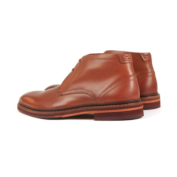 Ted Baker Mens Brown Corrins Leather Desert Boot main image