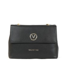 Valentino by Mario Womens Black Sax Satchel