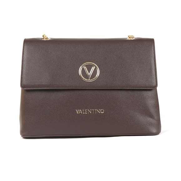 Valentino by Mario Womens Brown Sax Satchel