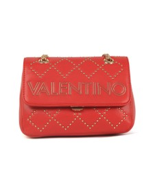 Valentino by Mario Womens Red Mandolino Small Satchel
