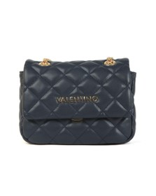 Valentino by Mario Womens Blue Ocarina Small Satchel