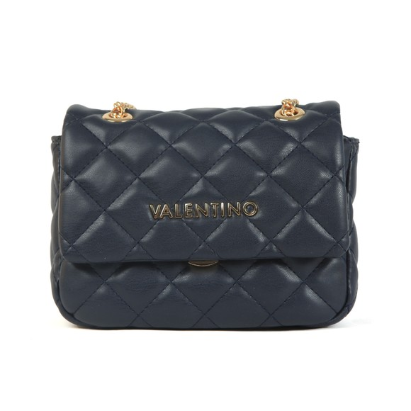 Valentino by Mario Womens Blue Ocarina Small Satchel