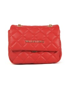Valentino by Mario Womens Red Ocarina Small Satchel
