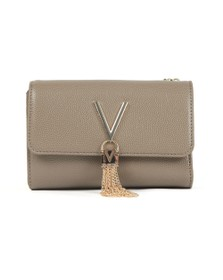 Valentino by Mario Womens Beige Divina Clutch Bag