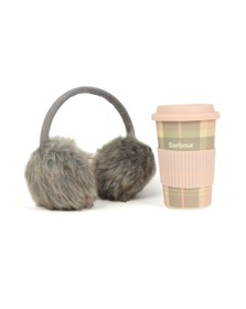 Barbour Lifestyle Womens Pink Mug & Earmuff Gift Set