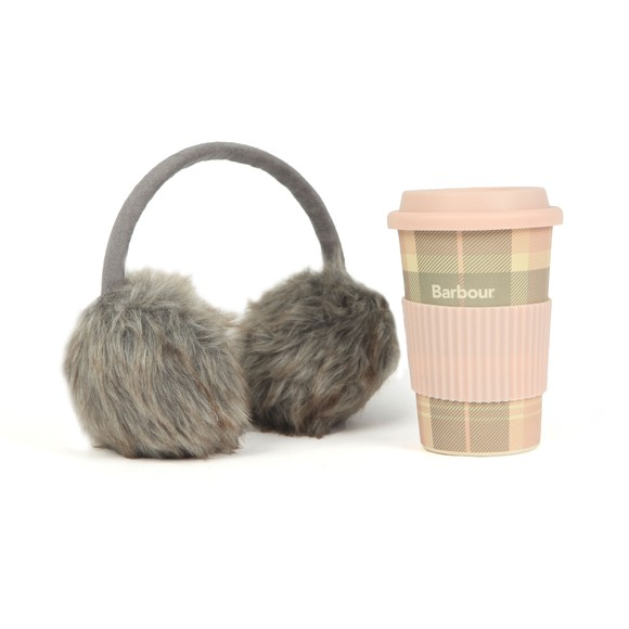 Barbour Lifestyle Womens Pink Mug & Earmuff Gift Set main image