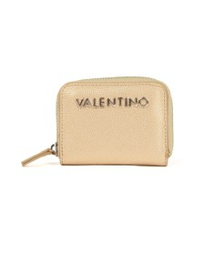 Valentino by Mario Womens Gold Divina Coin Purse