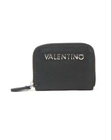 Valentino by Mario Womens Black Divina Coin Purse