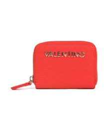 Valentino by Mario Womens Red Divina Coin Purse