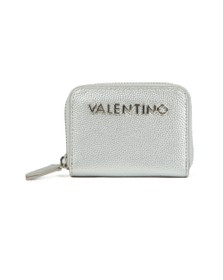 Valentino by Mario Womens Silver Divina Coin Purse