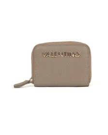 Valentino by Mario Womens Beige Divina Coin Purse
