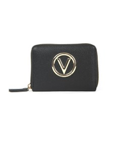 Valentino by Mario Womens Black Sax Purse