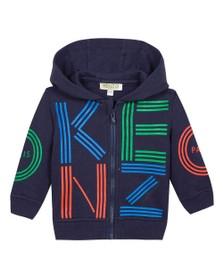 Kenzo Baby Boys Blue Sport Line Zip Hoody