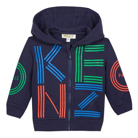 Kenzo Baby Boys Blue Sport Line Zip Hoody main image