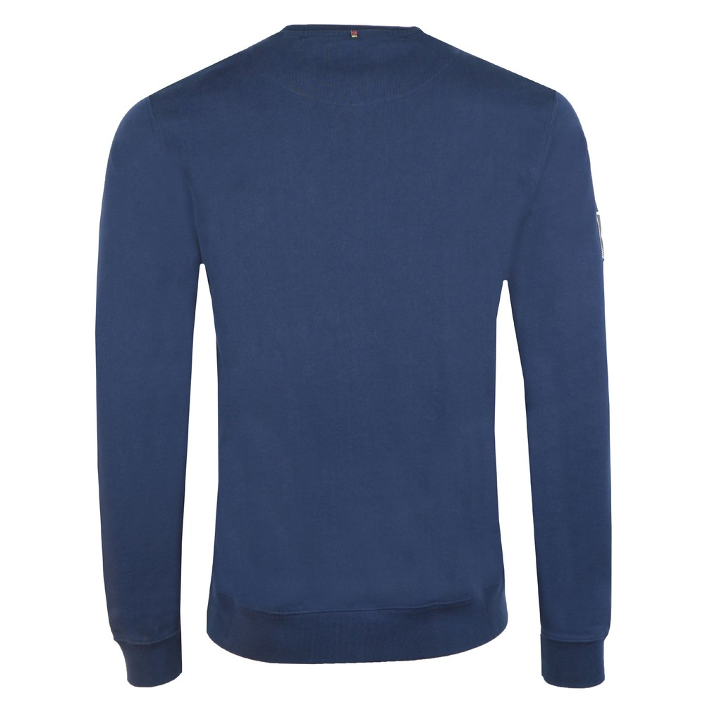 Loopback Cotton Crew Neck Sweat main image