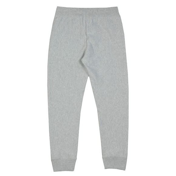 Champion Reverse Weave Mens Grey Small Logo Rib Cuff Jogger main image