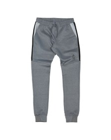 Gym King Mens Grey Core Plus Poly Contrast Jogger