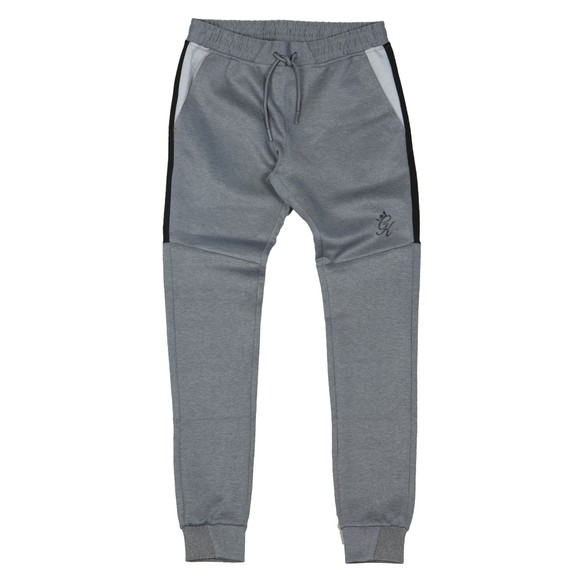 Gym King Mens Grey Core Plus Poly Contrast Jogger main image