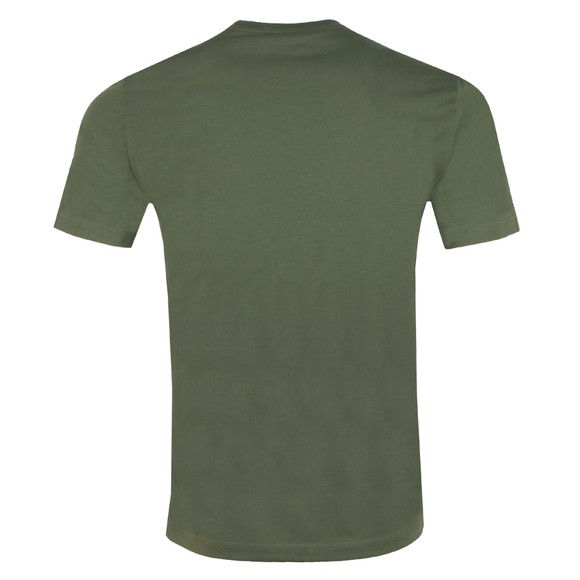 EA7 Emporio Armani Mens Green Panel T-Shirt main image