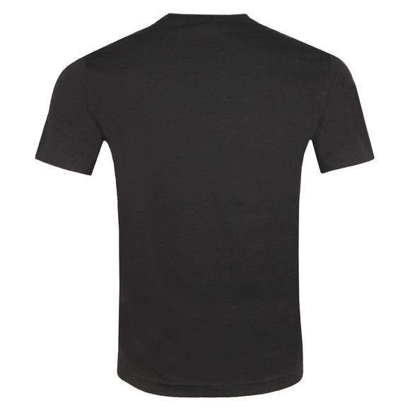 EA7 Emporio Armani Mens Black Panel T-Shirt main image