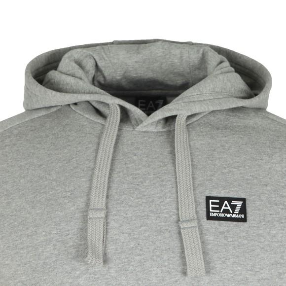 EA7 Emporio Armani Mens Grey Over The Head Hood main image
