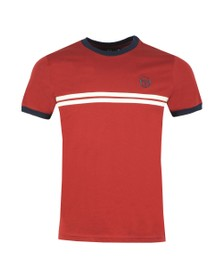 Sergio Tacchini Mens Red S/S Supermac Tee