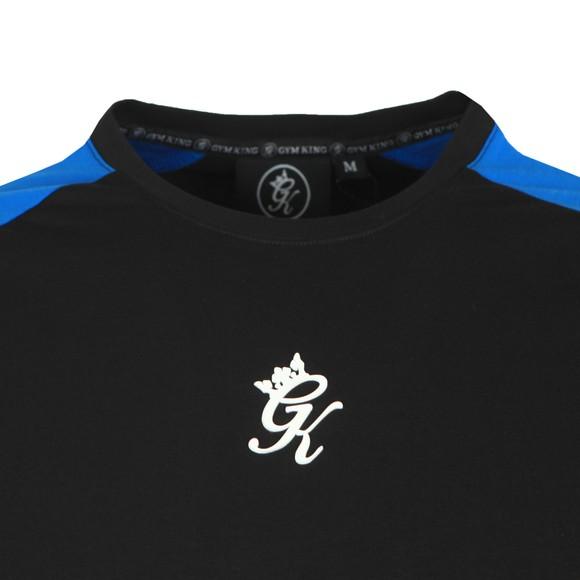 Gym King Mens Black Ali T-Shirt main image