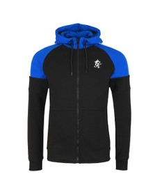 Gym King Mens Black Contrast Core Plus Hoody
