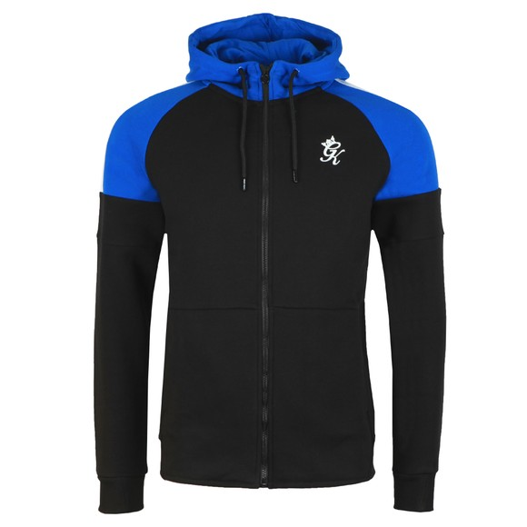Gym King Mens Black Contrast Core Plus Hoody main image