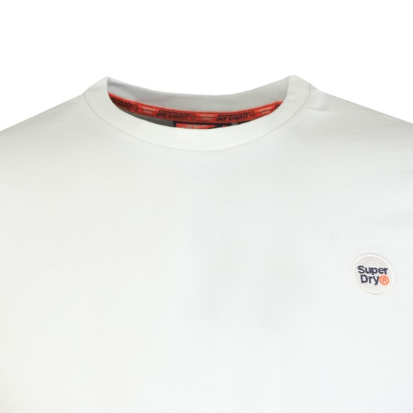 Superdry Mens White Collective Tee main image