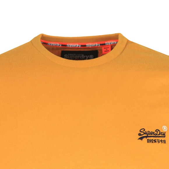 Superdry Mens Gold Vintage Embroidery T-Shirt main image