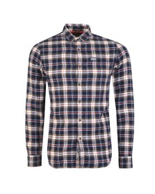Superdry Mens Blue Workwear shirt