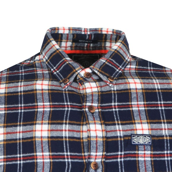 Superdry Mens Blue Workwear shirt main image