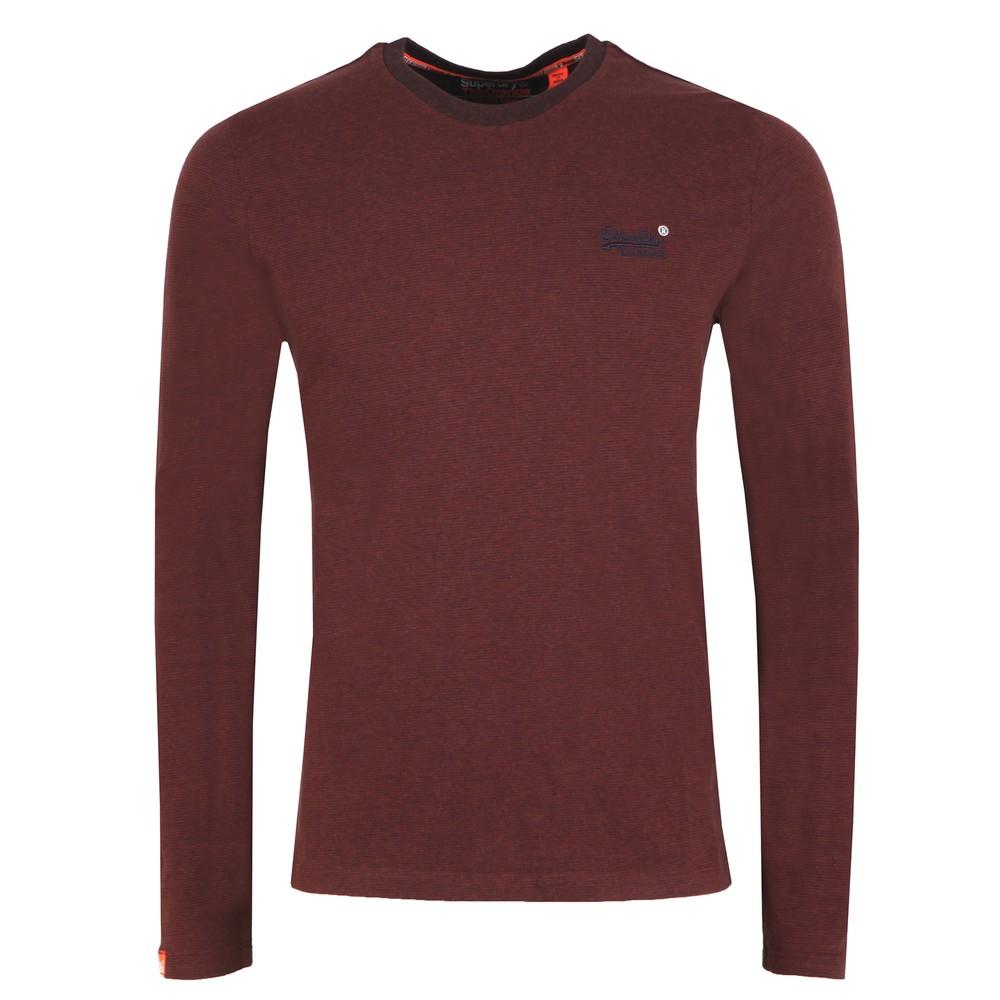 Orange Label Texture LS T-Shirt main image