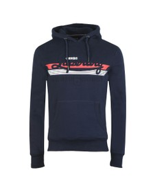 Superdry Mens Blue Embossed Classic Hood