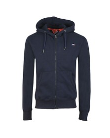 Superdry Mens Blue Collective Zip Hoodie