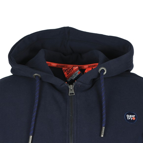 Superdry Mens Blue Collective Zip Hood main image