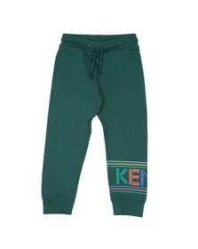 Kenzo Kids Boys Green Sport Line Logo Jogger