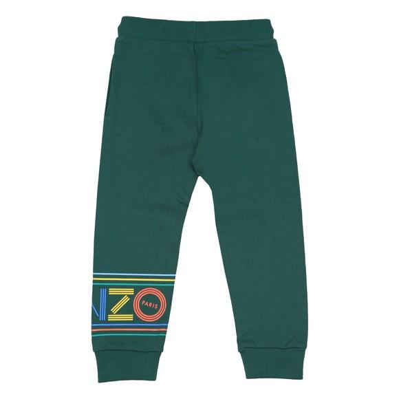 Kenzo Kids Boys Green Sport Line Logo Jogger main image
