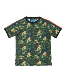 Luke 1977 Boys Green Irons Printed T Shirt
