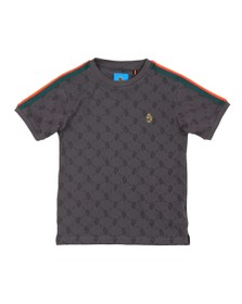 Luke 1977 Boys Grey Irons Printed T Shirt
