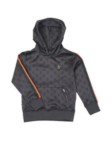 Luke 1977 Boys Grey Kick Junior Overhead Hoody