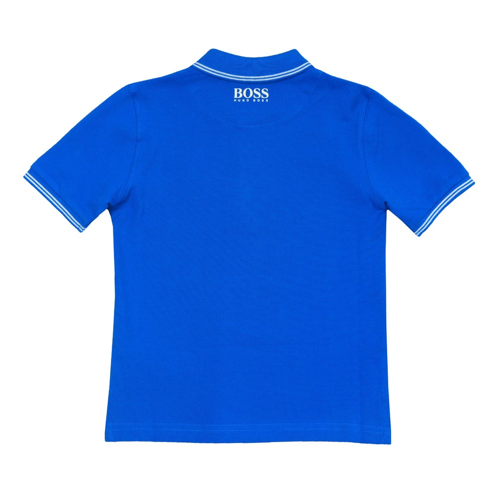 Boys J25E34 Square Badge Polo Shirt main image