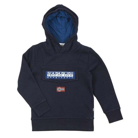 Napapijri Boys Blue Boys Burgee Hoody