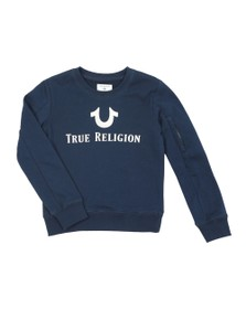 True Religion Boys Blue Foil Sweatshirt
