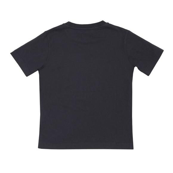 C.P. Company Undersixteen Boys Blue Embroidered Logo T Shirt main image