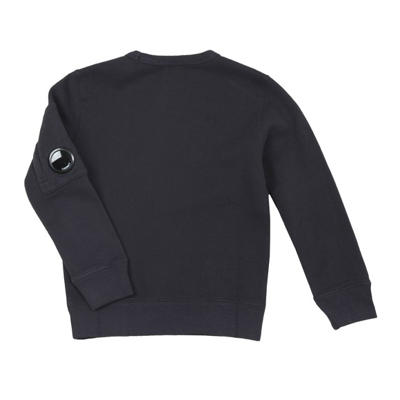 C.P. Company Undersixteen Boys Blue Chest Logo Crew Sweatshirt main image