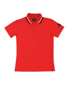 Paul & Shark Cadets Boys Multicoloured Tipped Polo Shirt